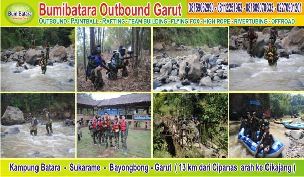 info_outbound_gathering_arung_jeram_paintball_di_garut