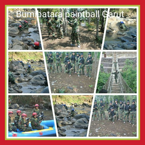 Area paintball di garut